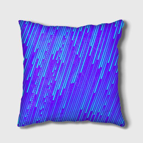 Подушка 3D Неоновые Линии Фото 01