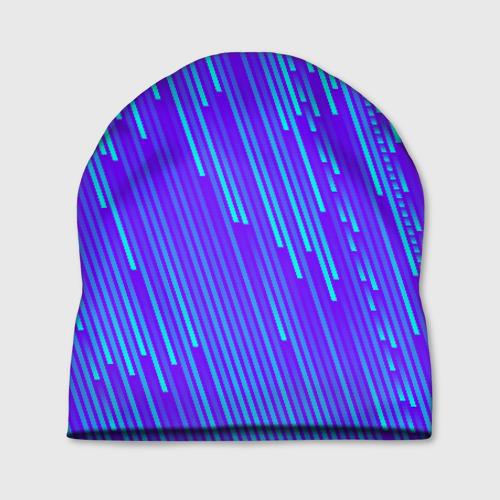 Шапка 3D Неоновые Линии Фото 01