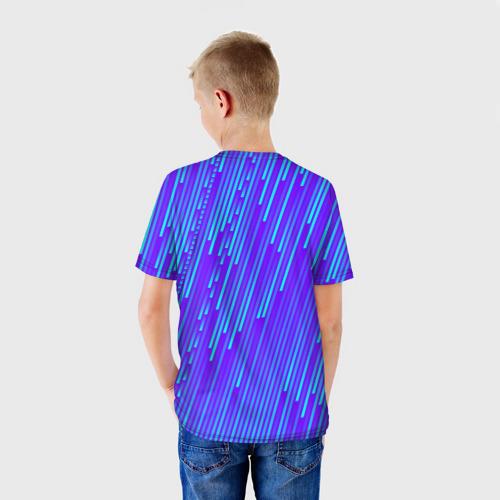 Детская футболка 3D Неоновые Линии Фото 01