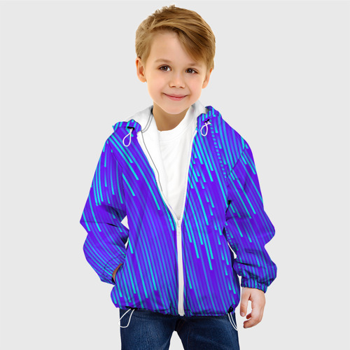 Детская куртка 3D Неоновые Линии Фото 01