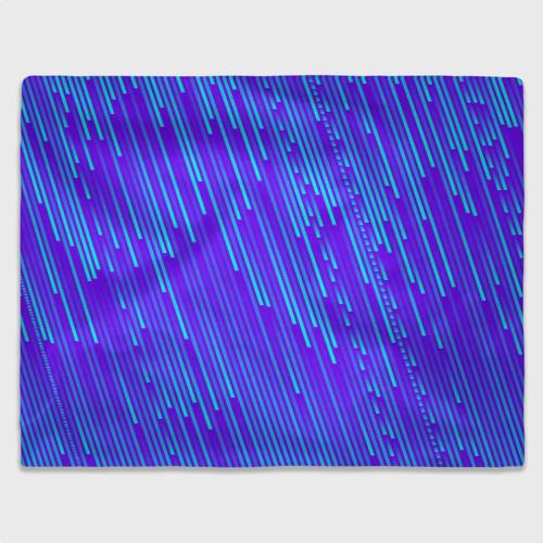 Плед 3D Неоновые Линии Фото 01