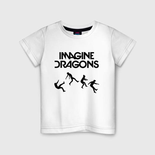 Детская футболка хлопок IMAGINE DRAGONS 3XS фото