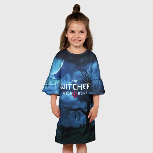 Детское платье 3D THE WITCHER 3:WILD HUNT