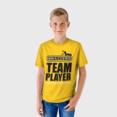 Детская футболка 3D Brazzers Team player