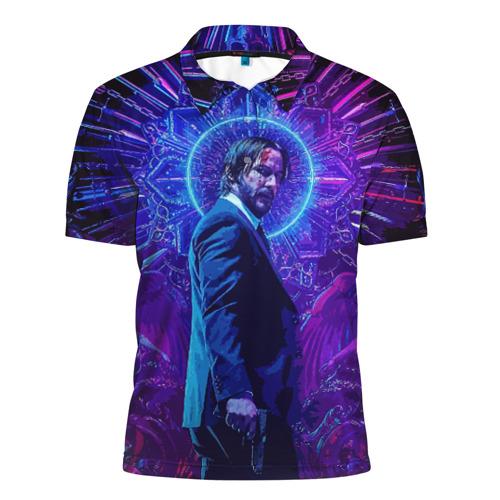 Мужская рубашка поло 3D John Wick (application)