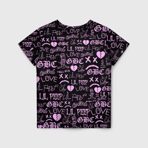 Детская футболка 3D LIL PEEP LOGOBOMBING Фото 01