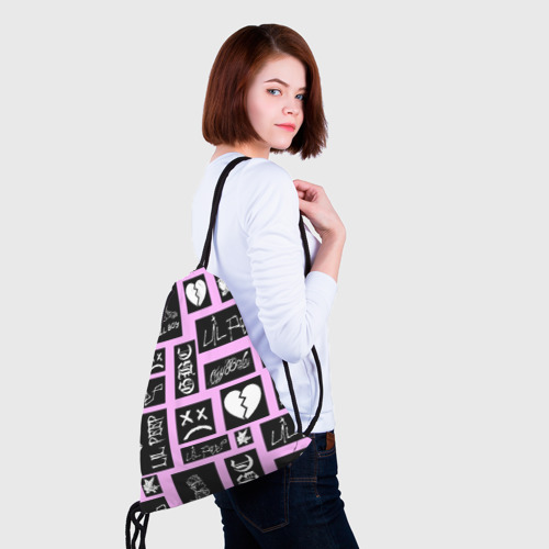 Рюкзак-мешок 3D LIL PEEP Фото 01