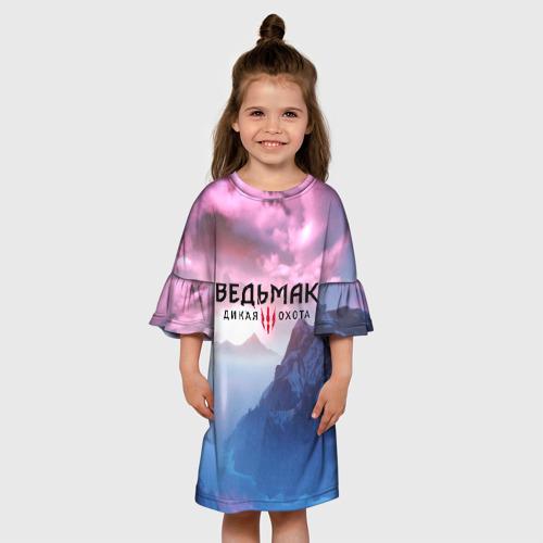 Детское платье 3D ВЕДЬМАК