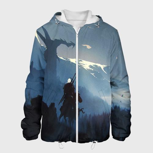 Мужская куртка 3D ВЕДЬМАК XXL фото