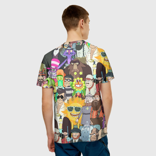 Мужская футболка 3D Рик и Морти Фото 01
