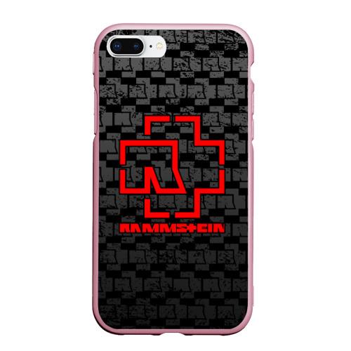Чехол для iPhone 7Plus/8 Plus матовый RAMMSTEIN Фото 01