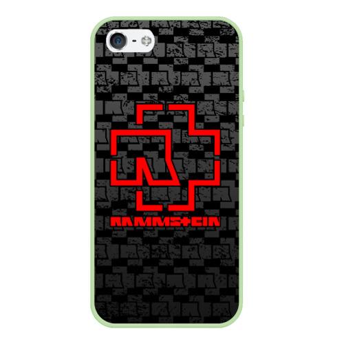 Чехол для iPhone 5/5S матовый RAMMSTEIN Фото 01