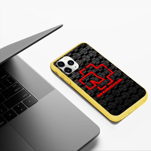 Чехол для iPhone 11 Pro Max матовый RAMMSTEIN Фото 01