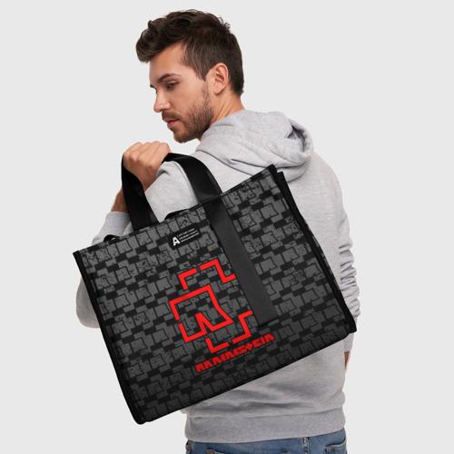 Сумка-шоппер 3D RAMMSTEIN Фото 01