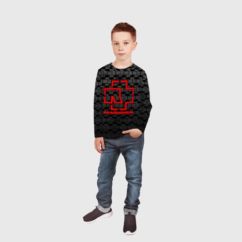 Детский лонгслив 3D RAMMSTEIN Фото 01