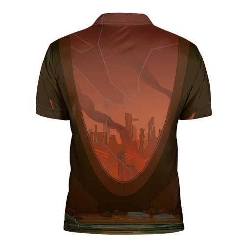 Мужская рубашка поло 3D C-137 Фото 01