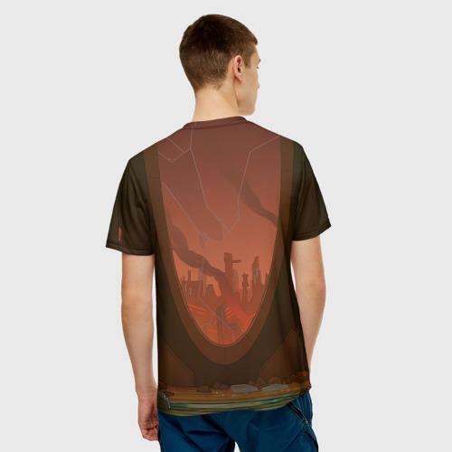 Мужская футболка 3D C-137 Фото 01