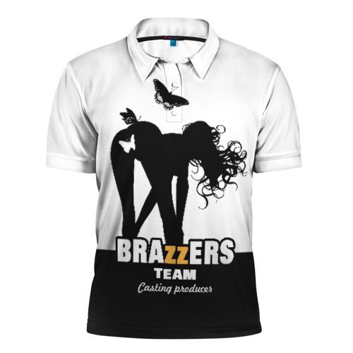 Мужская рубашка поло 3D Brazzers team Casting-producer