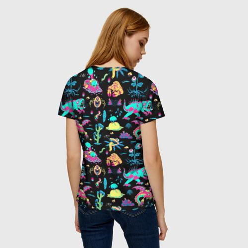 Женская футболка 3D Monsters Rick and Morty Фото 01