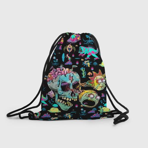 Рюкзак-мешок 3D Monsters Rick and Morty Фото 01