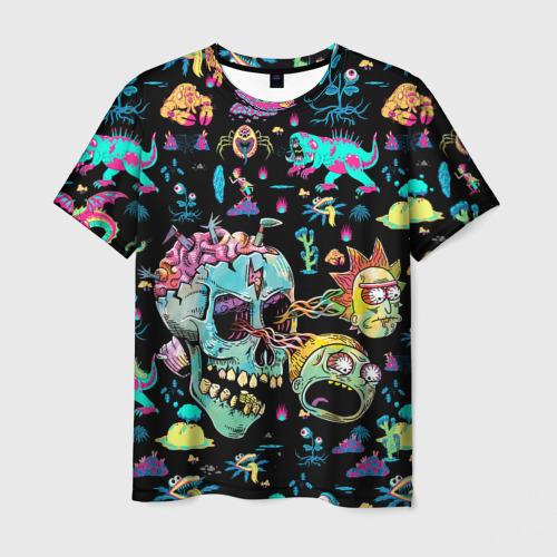 Мужская футболка 3D Monsters Rick and Morty Фото 01