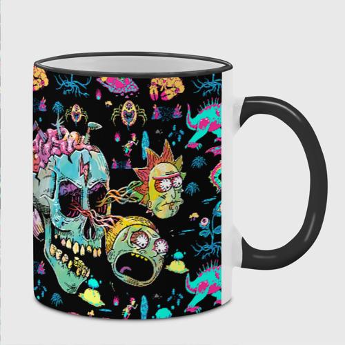 Кружка с полной запечаткой Monsters Rick and Morty Фото 01