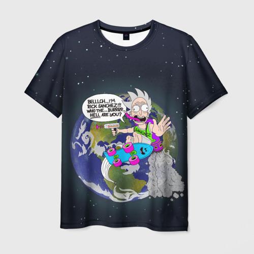 Мужская футболка 3D Мелкий Рик Фото 01