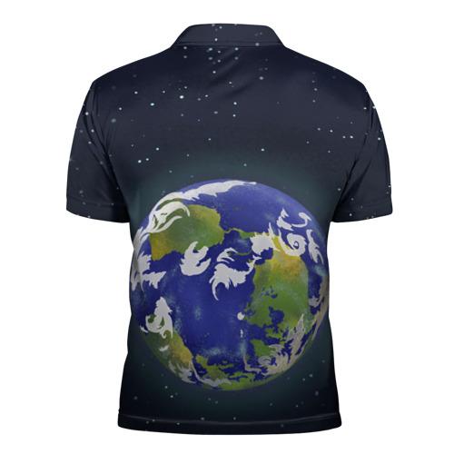 Мужская рубашка поло 3D Мелкий Рик Фото 01