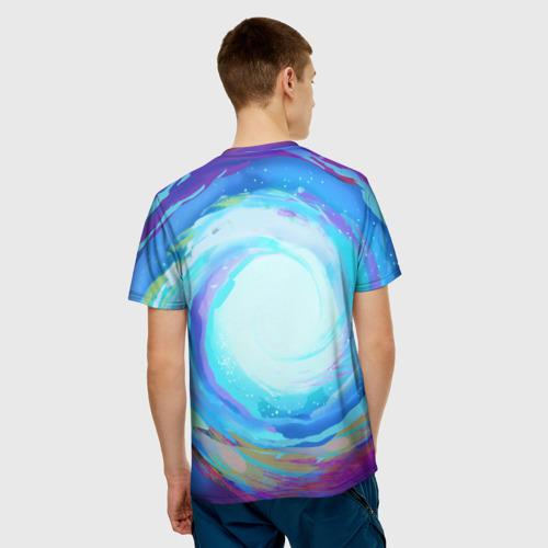 Мужская футболка 3D Rick in nirvana Фото 01
