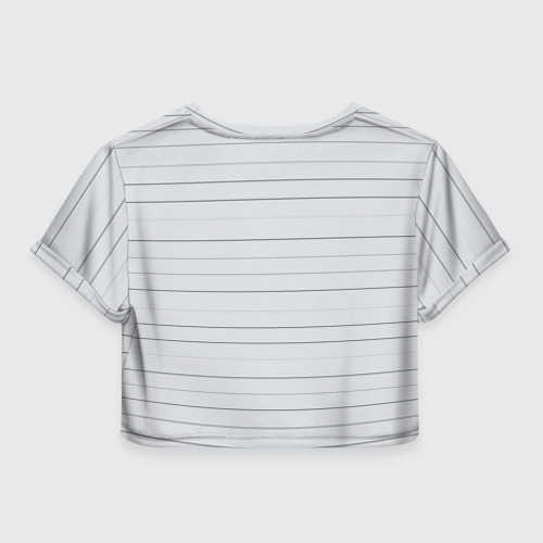 Женская футболка Crop-top 3D Rick is in prison Фото 01