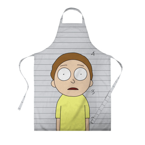 Фартук 3D Morty is in prison Фото 01