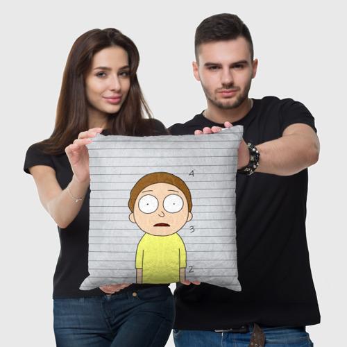 Подушка 3D Morty is in prison Фото 01