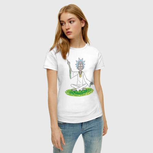 Женская футболка хлопок Rick Sanchez Фото 01