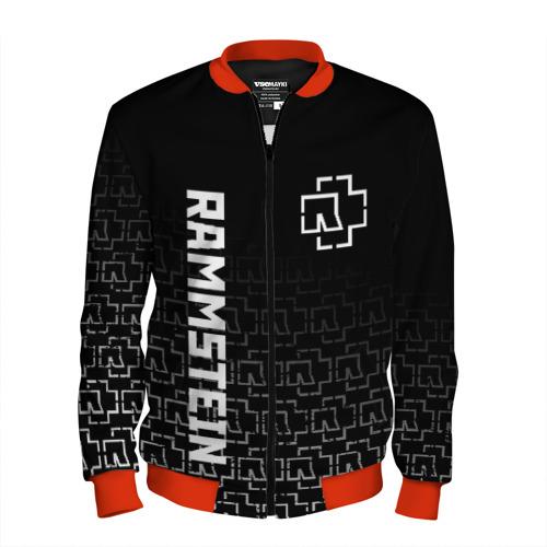 Мужской бомбер 3D RAMMSTEIN L
