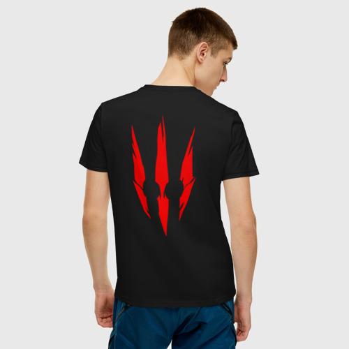 Мужская футболка хлопок ВЕДЬМАК 3 (НА СПИНЕ) Фото 01