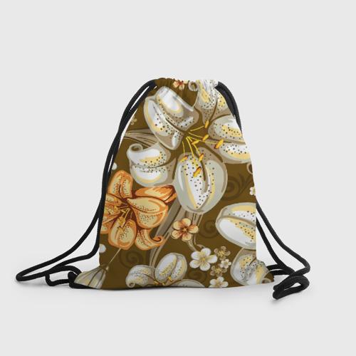 Рюкзак-мешок 3D Цветы Фото 01