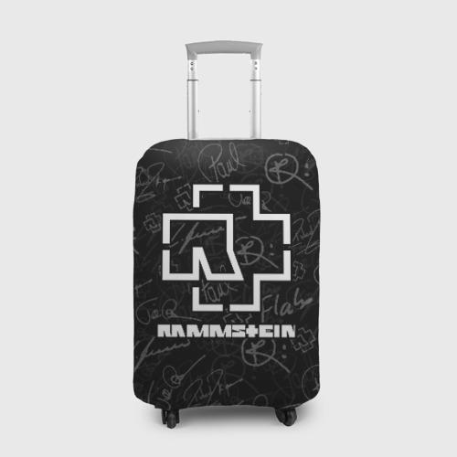 Чехол для чемодана 3D  RAMMSTEIN  Фото 01