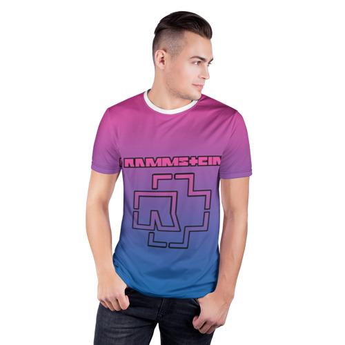 Мужская футболка 3D спортивная  Фото 03, RAMMSTEIN
