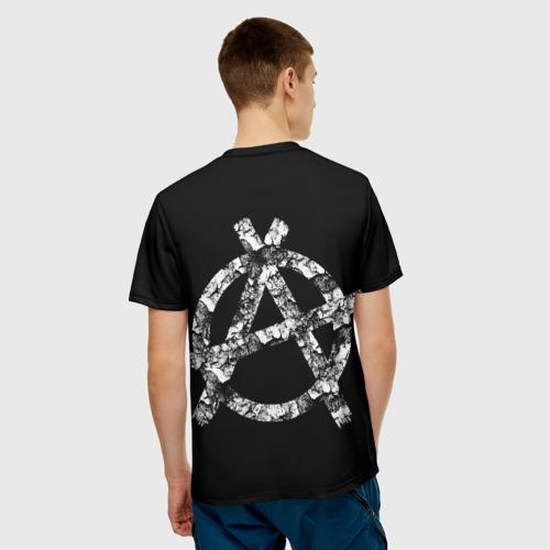Мужская футболка 3D Король и Шут + Анархия (спина) Фото 01