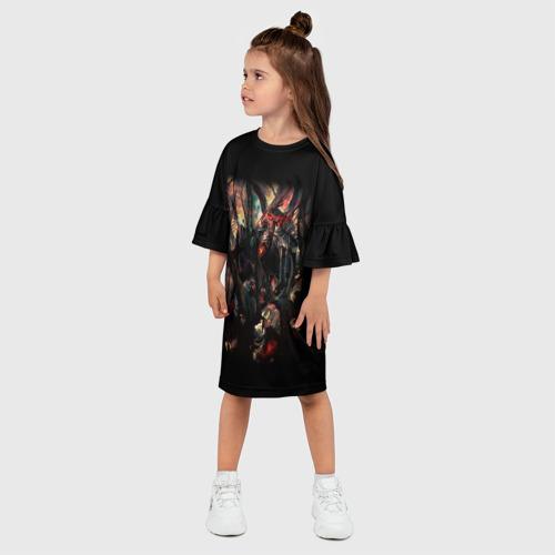 Детское платье 3D  Фото 03, Overlord (4)