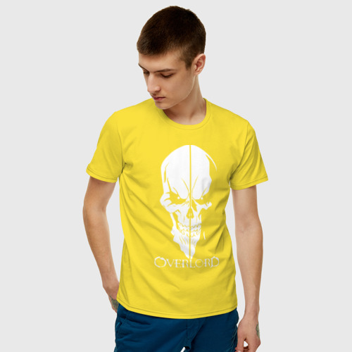 Мужская футболка хлопок Overlord Skull Фото 01