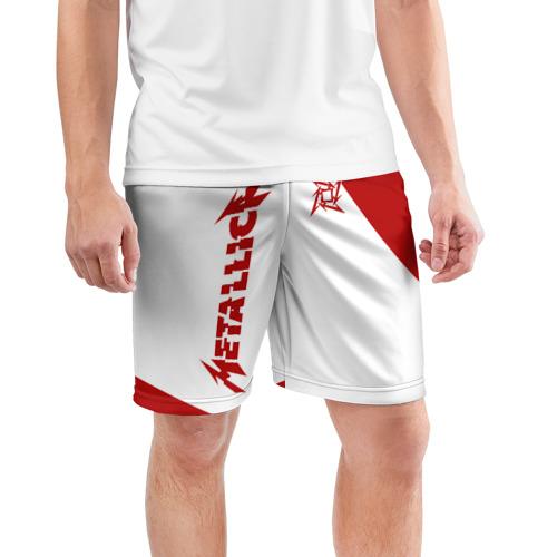 Мужские шорты спортивные Metallica Фото 01