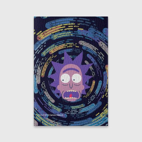 Обложка для паспорта матовая кожа Screaming Rick Фото 01