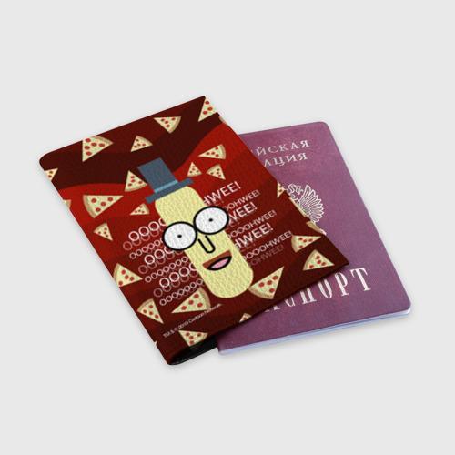 Обложка для паспорта матовая кожа Мистер Пупибатхол Фото 01