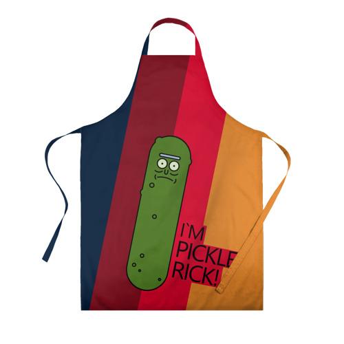 Фартук 3D Pickle Rick Фото 01