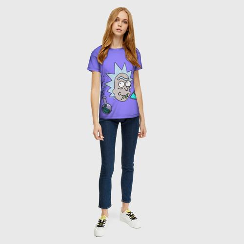 Женская футболка 3D Smart Rick Фото 01