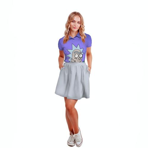 Женская рубашка поло 3D Smart Rick Фото 01