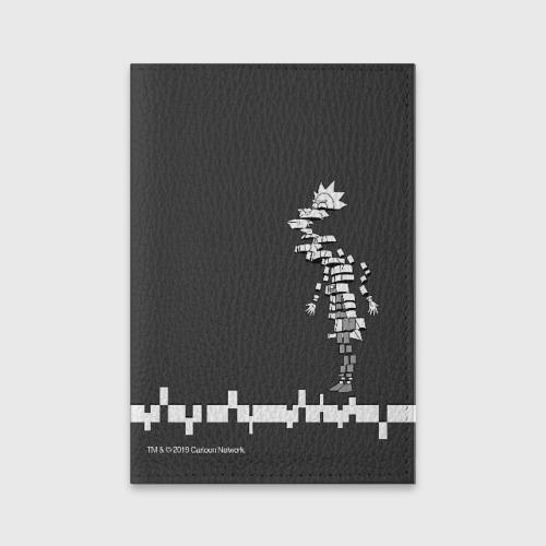 Обложка для паспорта матовая кожа Rick Slice Фото 01