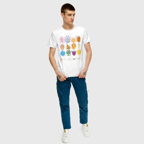 Мужская футболка хлопок Get Schwifty Фото 01