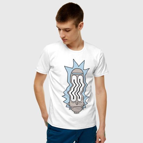 Мужская футболка хлопок Rick and Morty waves Фото 01